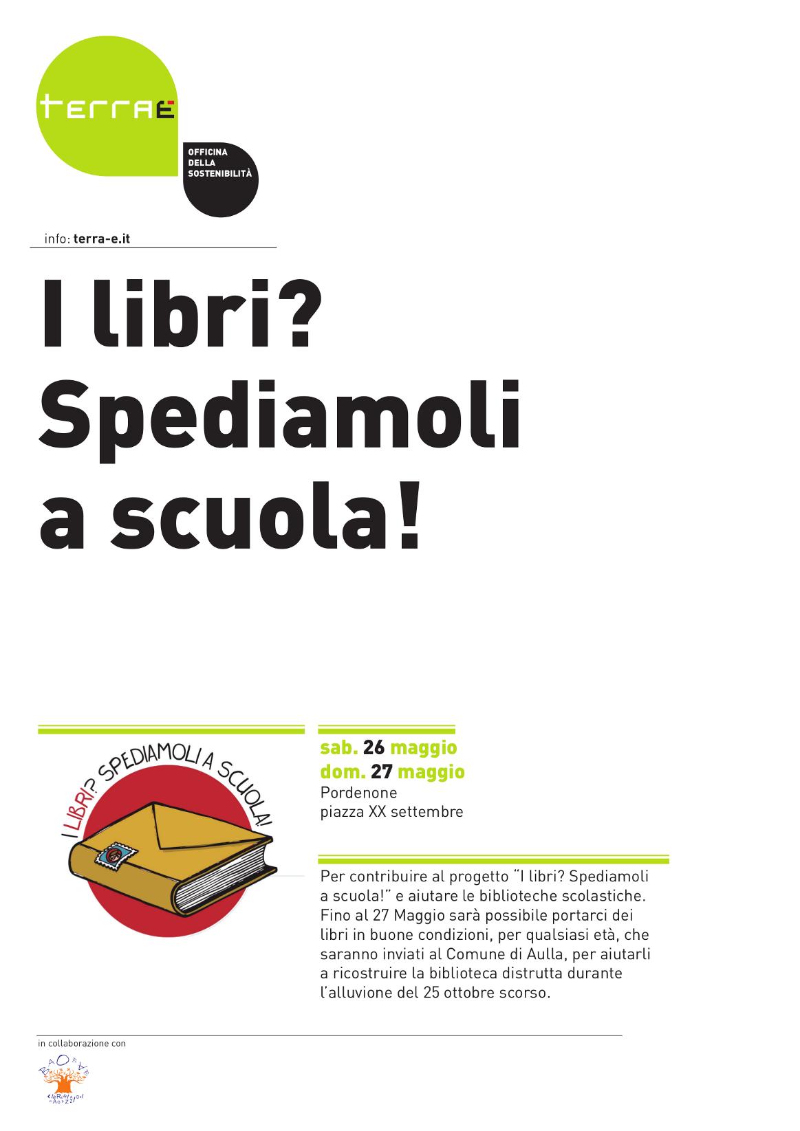 Terra 2012 i libri spediamoli a scuola terra for Libri scuola